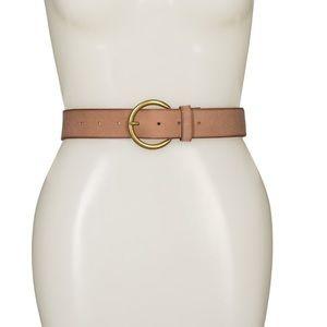 Frye Leather Flat belt Large New!